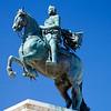 statue of Philip IV in Plaza Oriente