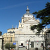 Almudena Cathedral, across from the Royal Palace
