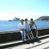 Horta, Azores - Beverly, Amy & Kay Wong