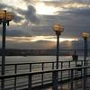 Lisbon, Portugal - entering the harbor in the morning light