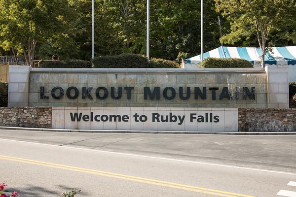 Ruby Falls and Disney World October 2016