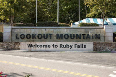 Ruby Falls and Disney World October 2016