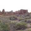 Distance shot of one of the pueblos. This is all a single building, mind you