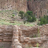 Monday was Bandelier National Park. This time was for the ruins, not the backcountry camping! Note the construction--large blocks held together with ample mortar