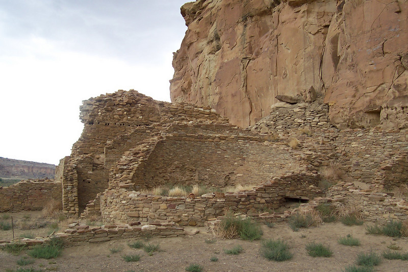 The other thing to know about these is that they're largely unexcavated. What you see here is just the upper stories! The buildings go down two or three stories. The larger openings you see are doors