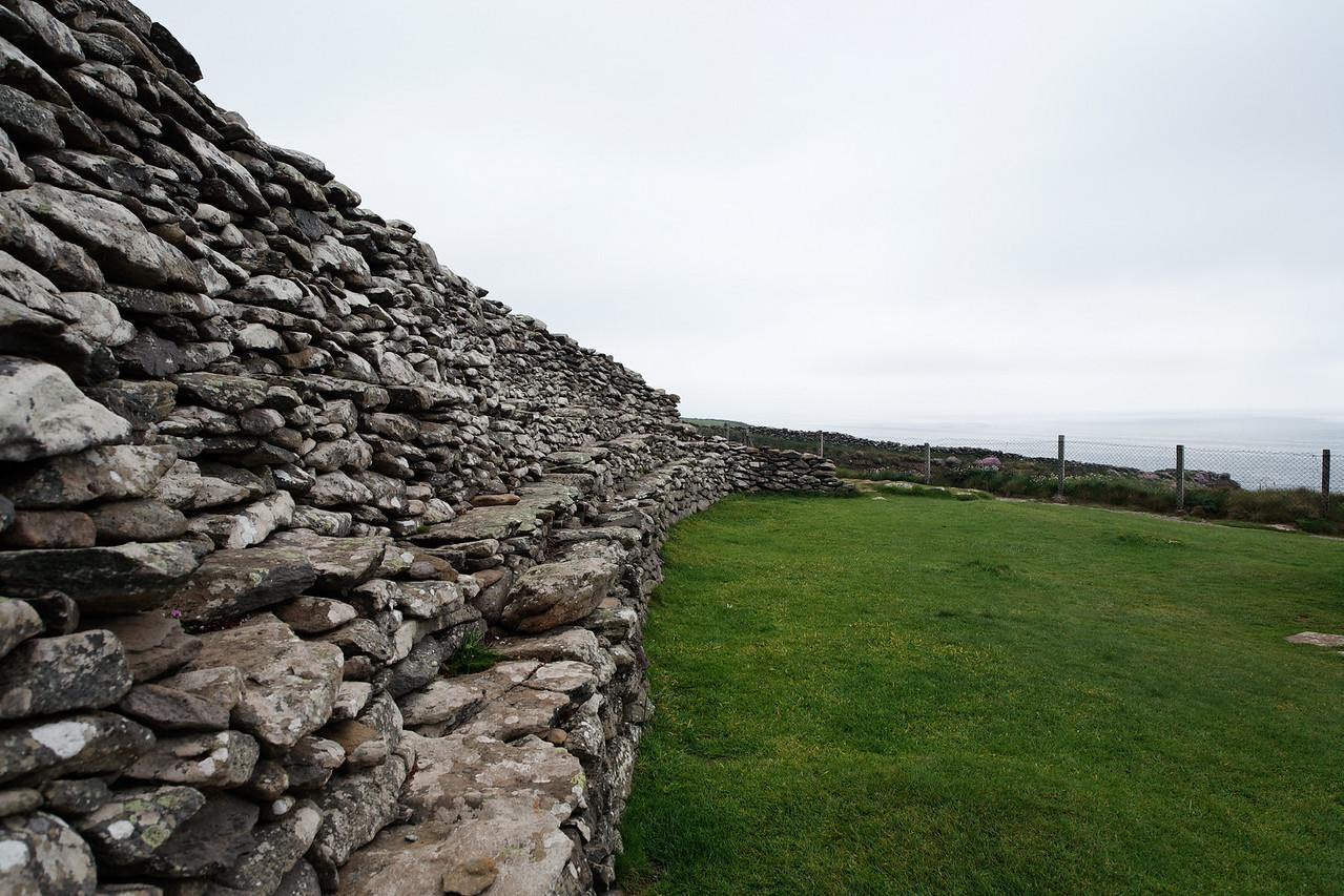 Wall at Dunbeg Fort, Dingle Peninsual