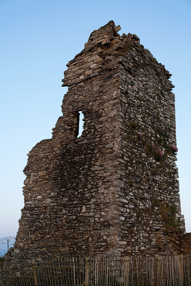 Ruined tower, Old Head