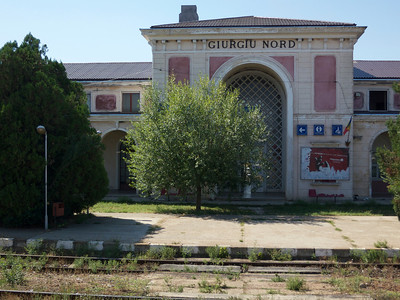 Giurgiu Nord, Bucharest-Ruse train journey