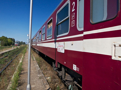 Bucharest-Ruse train journey