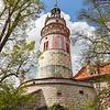 Der Turm des Schlosses Krumau