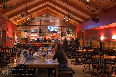 Inside the Tavern at Rush Creek Lodge Yosemite