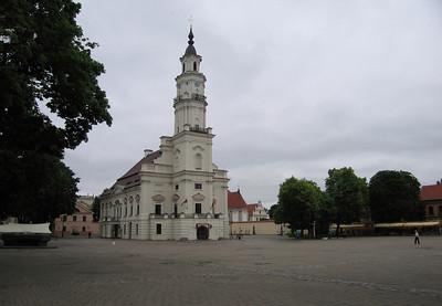 Gemeentehuis Kaunas Litouwen