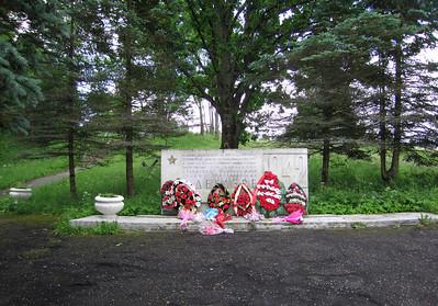 WO2 monument langs de weg