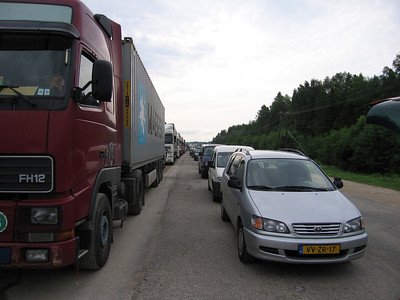 Russische grens