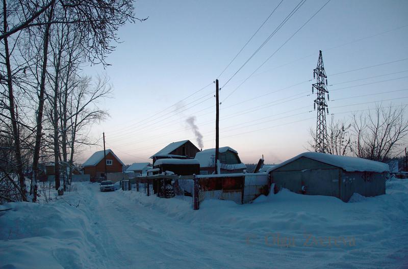 <p>Evening. Siberia, Berdsk, Russia</p>