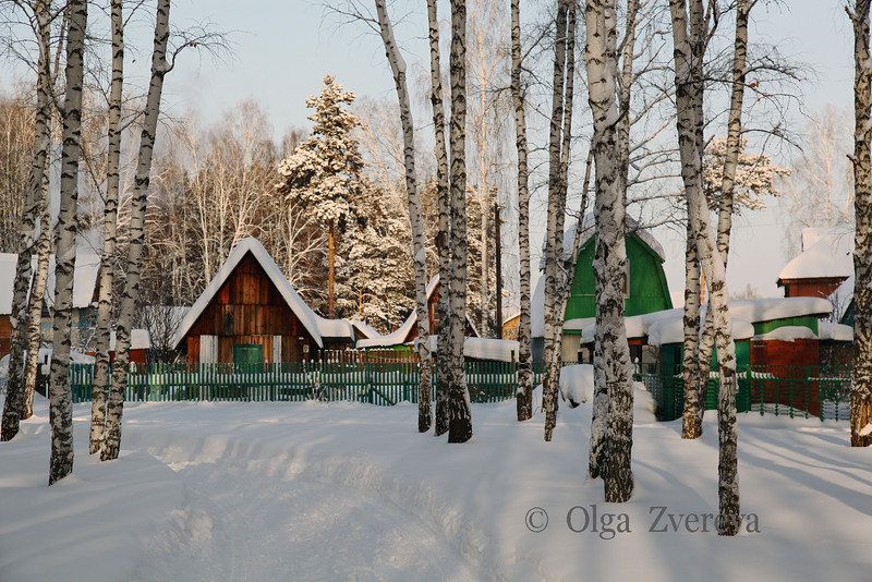 <p>Winter in Berdsk, Siberia, Russia.</p>