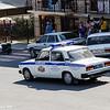 Russia police get Ladas, Russian make.