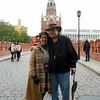 Judy & Mal at the Kremlin