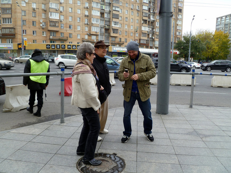 Asking directions on the street