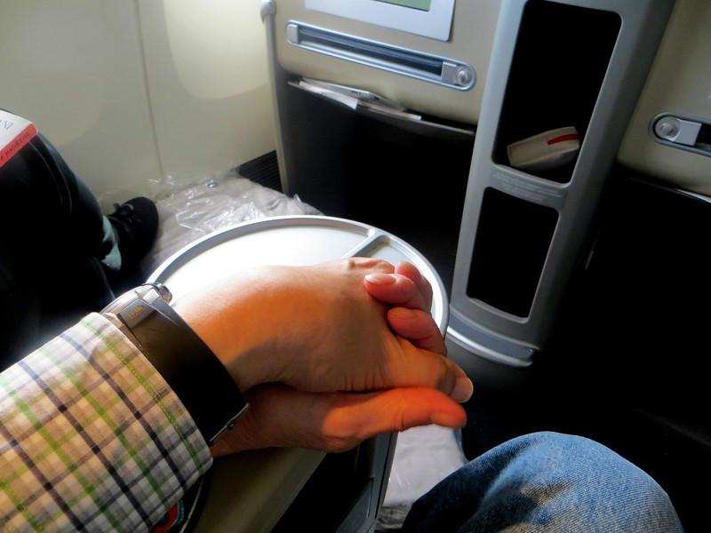 Beginning of the flight.