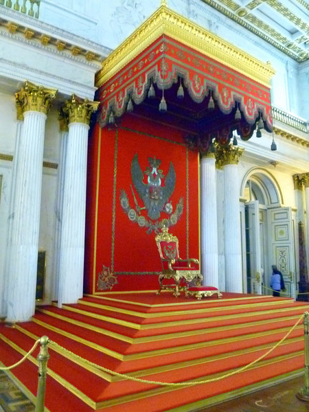 The Hermitage- The Throne room