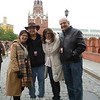 Judy, Mal, Arlene, Jack at the Kremlin