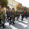 Soldier's walking with Dress Uniform