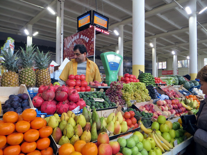 Yarlslavl marketplace