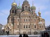 Church of the spilled blood.  Please use universal precautions.