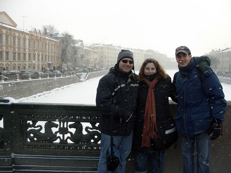 It was actually warmer in Moscow
