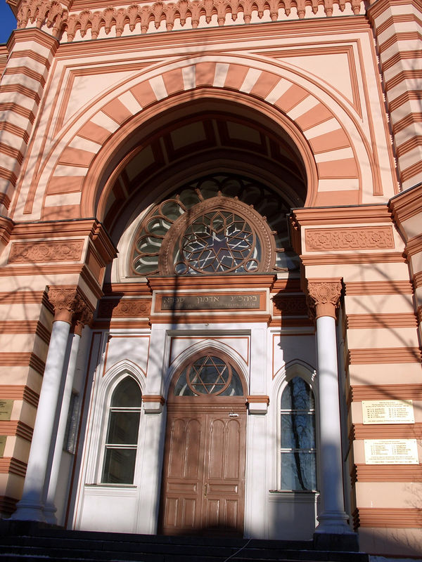The Choral synagogue in St. Petersburg.