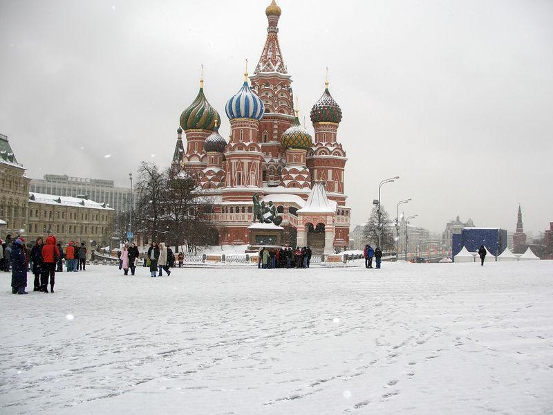 Saint Basil's.  It was cold :-)