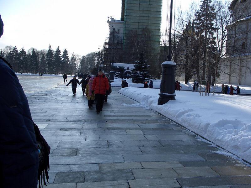 School tour inside the Kremlin