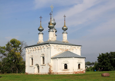Suzdal - 'Summer' church near Trade Square.