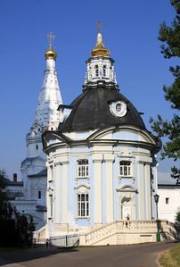 Trinity Monastery of St Sergius, Sergiev Posad - Smolenskaya Church.