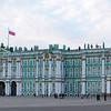 The Hermitage Winter Palace and Art Museum.  1,500 rooms, 3 million art exhibits.