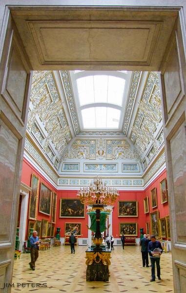 Large Italian Skylight Hall