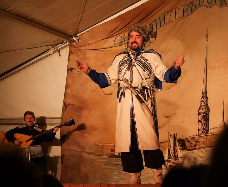 Russian Folk Life Performance