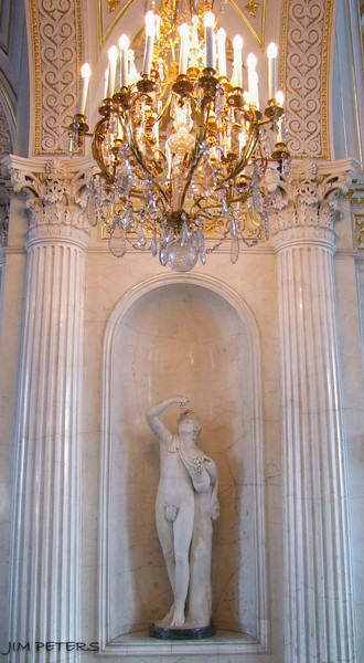 European Art - sculptures, paintings, furniture, etc.  This within Pavilion Hall.