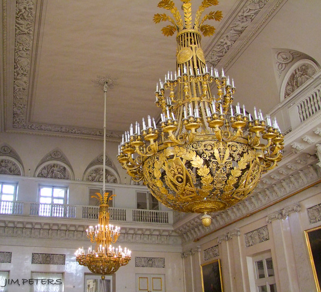 Gold Leaf and beauty abounds throughout The Hermitage