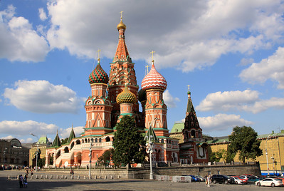 St Basil's Cathedral, viewed from outside Red Square.