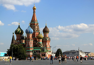 St Basil's Cathedral, viewed from Red Square.