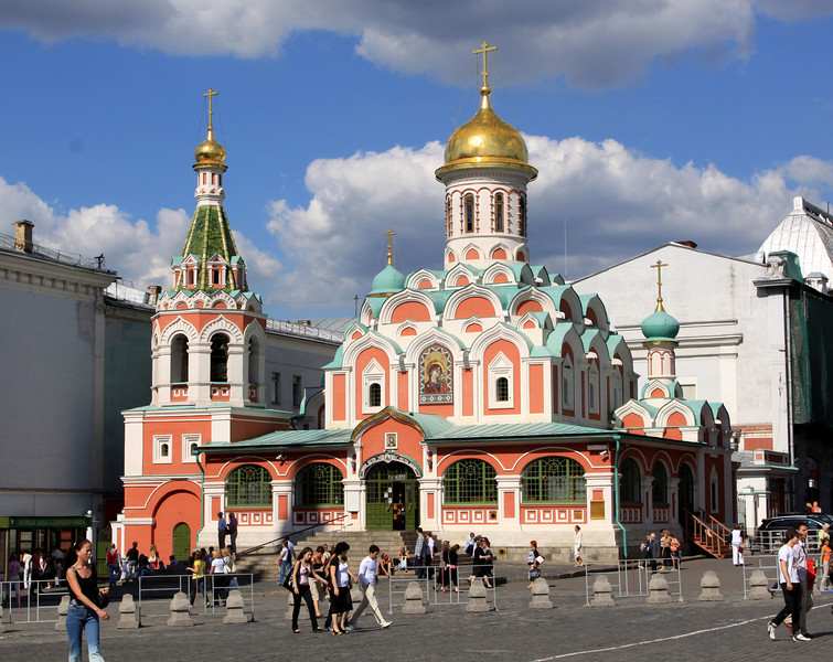 Kazan Cathedral, Red Square.