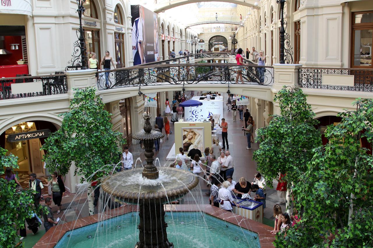 GUM (Gosudarstvenny Universalny Magazin, or State Department Store) interior.