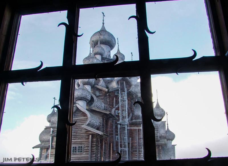 Transfiguration Church - all wood no nails.  22 timbered cupolas  built 1714