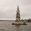 Church Steeple - Church underwater due to Rybinsk Reservoir.