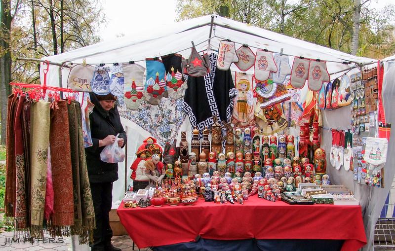 Selling Matryoshka Dolls (nesting dolls)