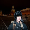 My new pal Damian.  We met on facebook a few months ago and have been exchanging email as we were both planning on train rides departing Moscow on January 1 - he's off to China.  We met down at Red Square last night and hung around a bit yesterday - had dinner, took pictures, goofed off.  Nice guy.