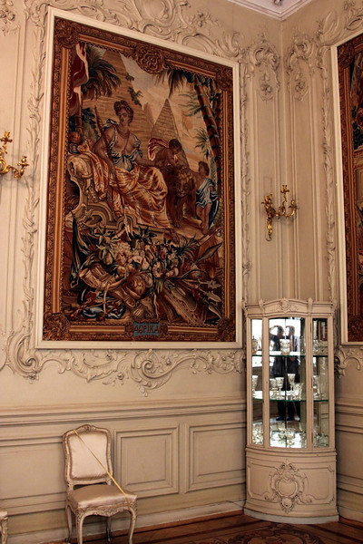 Hermitage Interior - Tapestry wall hanging.