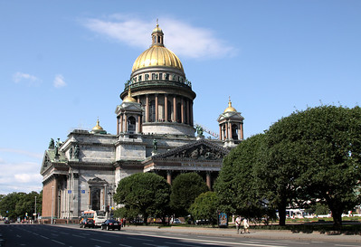 St Isaac's Cathederal, St Petersburg.